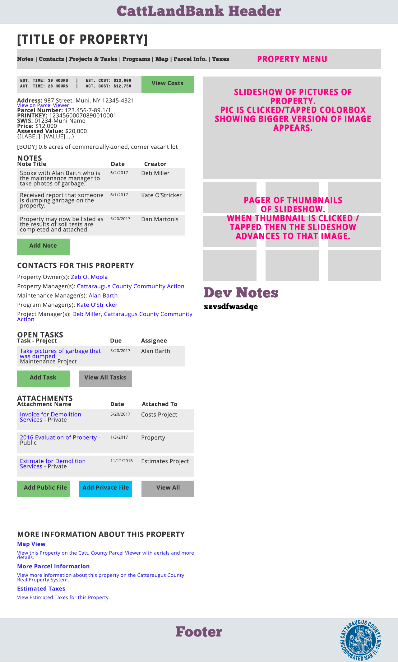 Editor View a Property